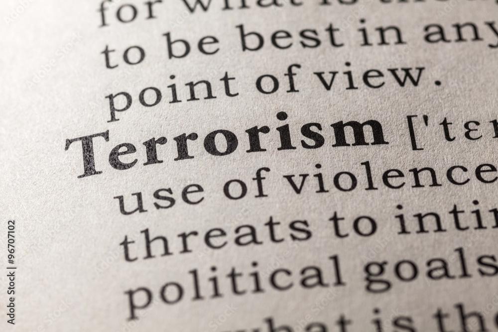 Fototapeta terrorism