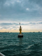 marine buoy in the Bosphorus Strait