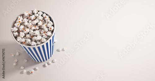 Photo  Pop corn cinema confezione