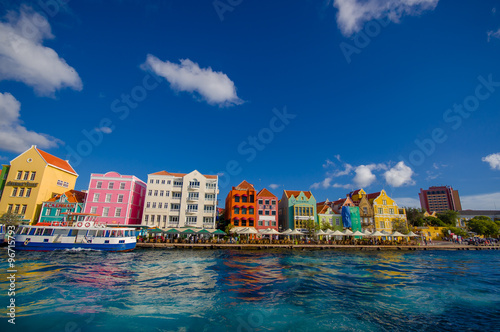 Photo  View of Willemstad. Curacao, Netherlands Antilles