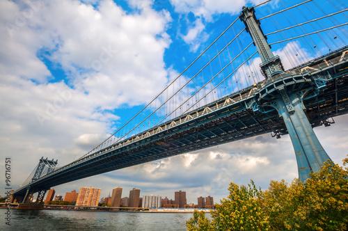 Photo  Manhattan Bridge in New York City