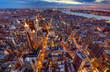 Manhattan Skyline bei Nacht 3