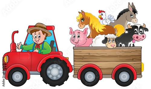 Recess Fitting For Kids Tractor theme image 2