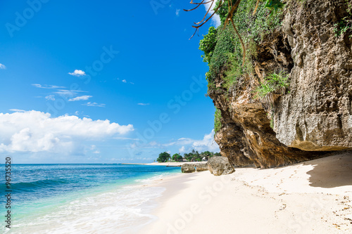 Foto op Canvas Bali Tropical beach with white sand in Bali