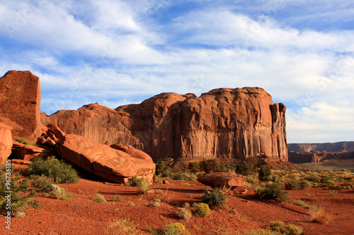 Foto op Canvas Baksteen View of Monument Valley in Utah, United States Of America