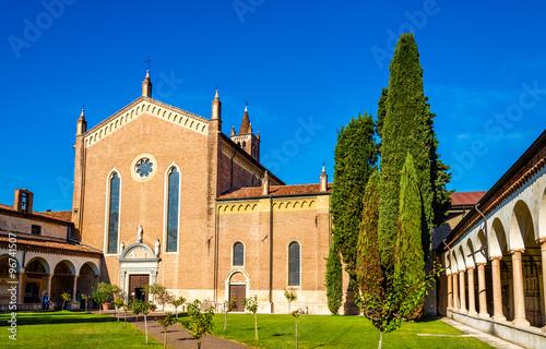 San Bernardino church in Verona - Italy Wallpaper Mural