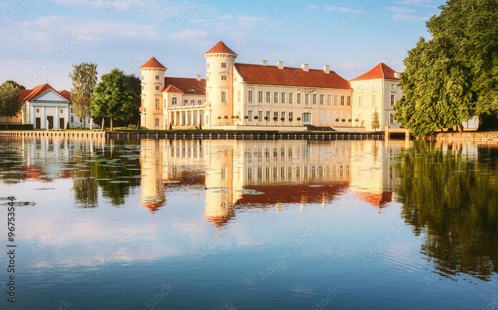 Fototapety, obrazy: Rheinsberg Castle in Ostprignitz-Ruppin, Germany