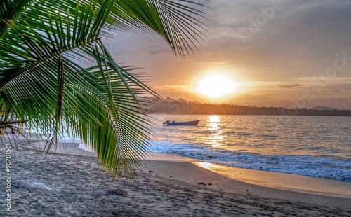 Photo  Beach Costa Rica