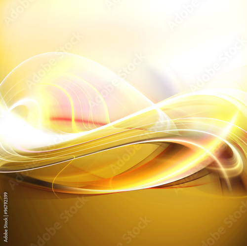 Acrylic Prints Abstract wave Abstract fractal design