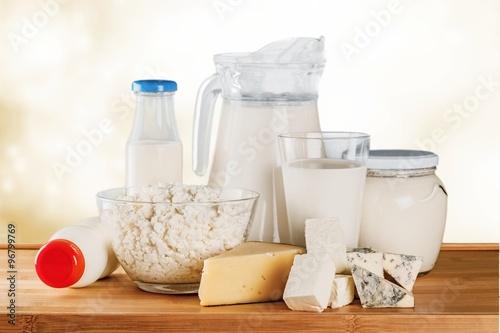 Poster Produit laitier Milk.