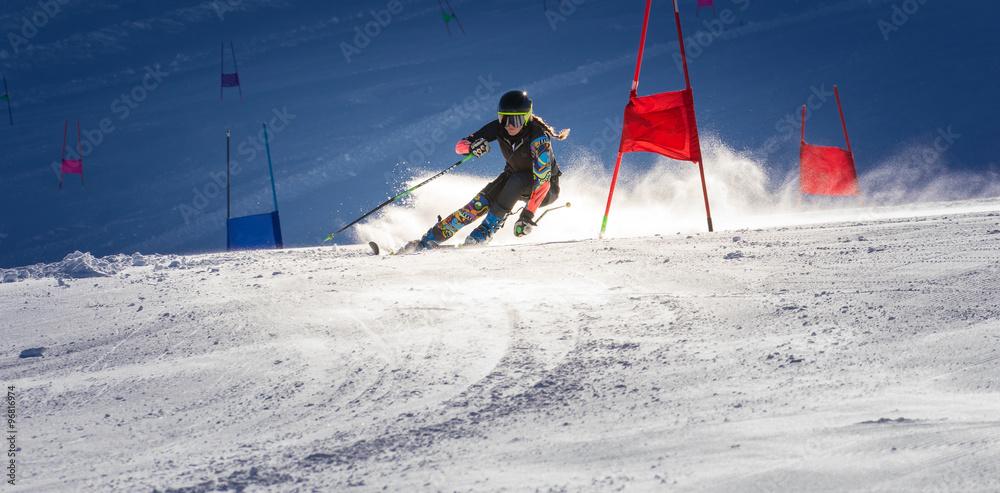 Fototapety, obrazy:  special slalom