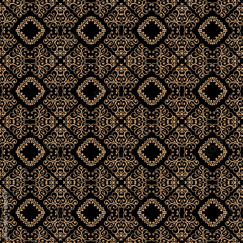 Canvas Print vector seamless pattern