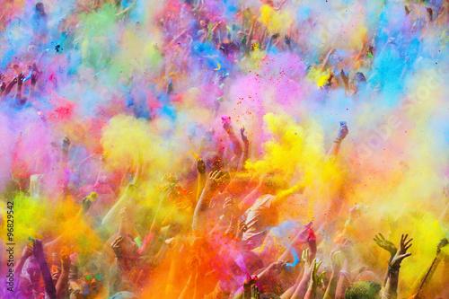 Festival de los colores Holi in Barcelona
