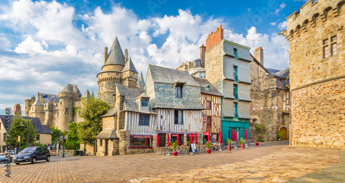 Photo Medieval town of Vitre, Bretagne, France