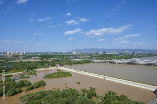 Foto op Plexiglas Xian city panorama
