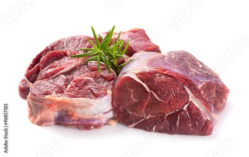 Foto op Canvas Vlees Carne