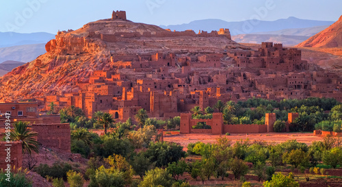 Photo Stands Morocco Kasbah Ait Benhaddou, Morocco