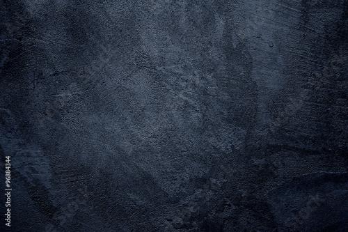 Fotografia, Obraz  Abstract grunge dark navy background