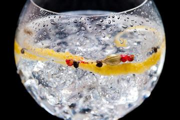 Panel Szklany Koktajle Gin tonic
