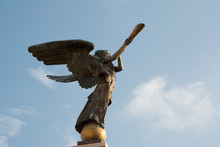 Angel Of Uzupis In Vilnius (Lithuania)