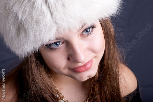 Valokuva  Portrait of a beautiful girl