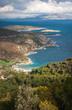 Seascape at island of Poros, Greece