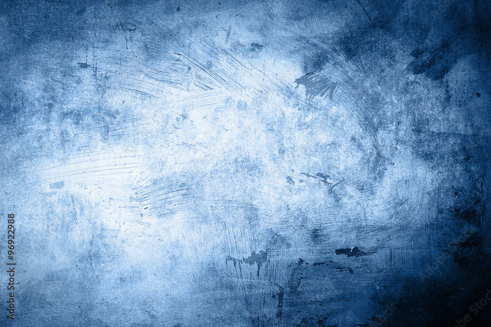 Fototapety, obrazy: grunge blue background