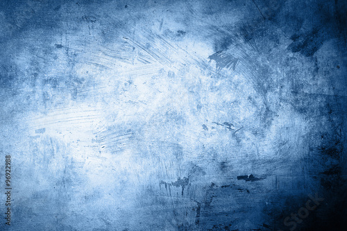 Pinturas sobre lienzo  grunge blue background