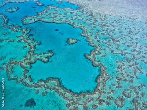 Great Barrier Reef - Aerial View