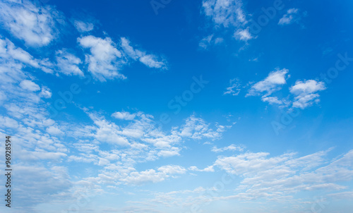 Clouds and blue sky background