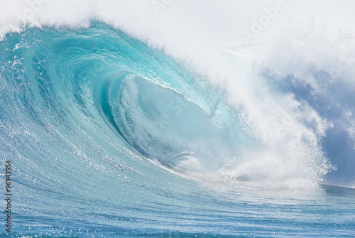 Door stickers Water Ocean wave abstract background