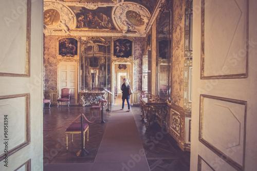Obraz na plátně  Villa della Regina, Torino