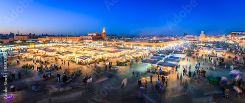 Recess Fitting Morocco Jemaa El Fnaa, Marrakesh