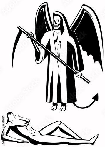 Fotografia, Obraz  Illustration of the death