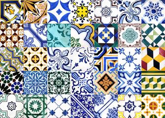 FototapetaPortuguese glazed tiles