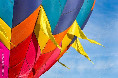 Photo Colorful Hot Air Balloon