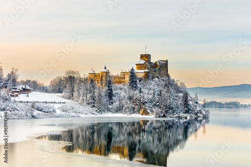 Obraz Beautiful view of Niedzica Castle, Poland - fototapety do salonu