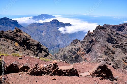 Tuinposter Canarische Eilanden Valley in the Canary Islands