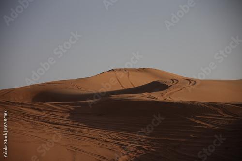 Photo  Desert Landscape in Dubai