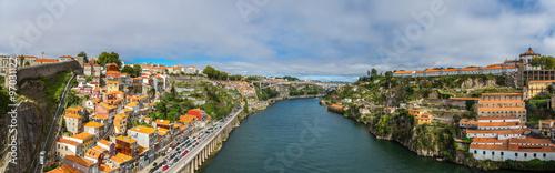 Staande foto Havana Aerial view of Porto in Portugal