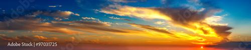 Fotografía  Sunset panorama
