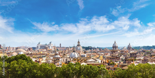 Poster Rome Panoramic view of Rome