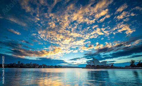 Canvas Prints Sydney SYDNEY, AUSTRALIA - MAY 11: Sydney Opera House Iconic of Sydney