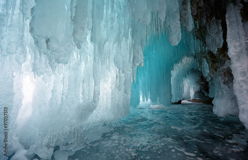 Fotografering Ice cave