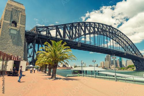 Beautiful view of Sydney Harbour Bridge
