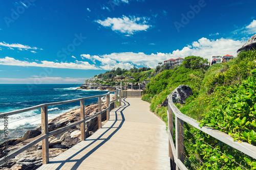 Cadres-photo bureau Plage Bondi Beach in Sydney, Australia