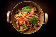 Stir Fried Chicken With Thai H...