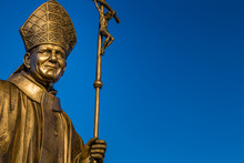 Statue Of Saint John Paul II