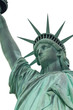 Lady Liberty isolated