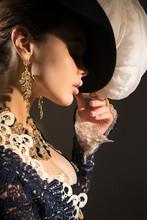 Girl Clothes Baroque Time